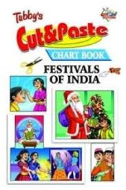 Fiction Chart Tubbys Cut Paste Chart Book Festivals Of India English