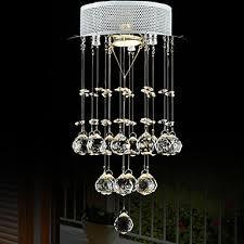 lightmyself 35w modern contemporary crystal mini style chrome crystal pendant lights bedroom kitchen