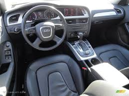 black audi a4 interior. black interior 2009 audi a4 20t premium quattro sedan photo 37865171 p