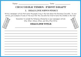Mars Attacks    Newspaper Report   Big Write   Resource Pack by