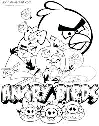 Star Wars Angry Birds Coloring Pages Free Printable Star Wars