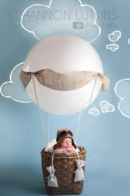 hot air balloon prop for baby s first photos newborn baby pictures melissa landres photography baby baby my work newborn baby pi