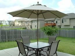 outdoor dining set with umbrella new enjoyment patio table with umbrella hole