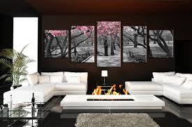 5 piece canvas wall art black and white canvas photography living room artwork  on 5 piece canvas wall art trees with 5 piece multi panel canvas grey huge pictures autumn trees wall