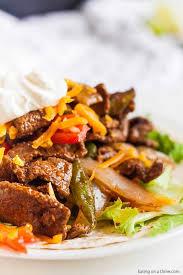 Flank steak, fajita cut packs from your grocer's butcher. Instant Pot Steak Fajitas Recipe 5 Ingredient Pressure Cooker Steak Fajitas