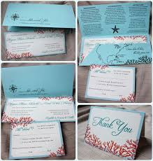 tiffany blue, teal & red beach coral horizontal wedding Wedding Invitations Red And Blue tiffany blue, teal & red beach coral horizontal wedding invitations with pocket folders red white and blue wedding invitations