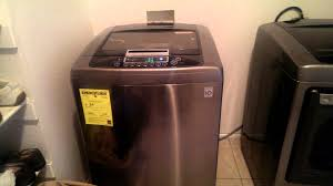 Topload Washer Lg Top Load Washer Dryer Youtube