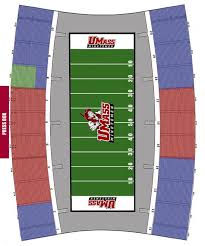 Mcguirk Stadium Seating Chart Umass Football Blog Umass Season Tickets Are Up