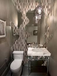 Example of an eclectic powder room design in San Francisco