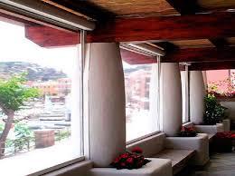 Tende Da Balcone In Plastica : Chiusura balcone con vetri e tende antivento antipioggia