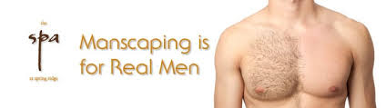Real Men get Manscaped!   The Spa at Spring Ridge