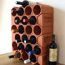 wine bottle storage furniture. Terracotta-wine-rack-Weston-Mill-Pottery Wine Bottle Storage Furniture I