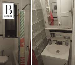 before after dramatic updates for a brooklyn bathroom
