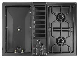gas cooktop with downdraft. Features Gas Cooktop With Downdraft