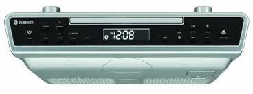 Radio For Kitchen Cabinet Best Under Cabinet Kitchen Cd Clock Radio Reviews 2016 2017 On