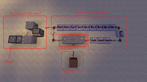 help a redstone switch redstone discussion and mechanisms the output here is a note block which only goes off if the item you put into the furnace is a sapling or anything else that burns exactly as long as a