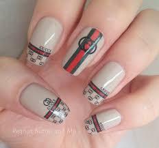 gucci nails. gucci nail design nails