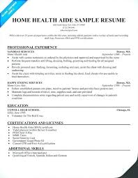 Home Health Care Job Description For Resume Home Health Aide Job Description For Resume Emelcotest Com