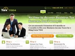 How To E-File A Business Income Tax Extension - Youtube