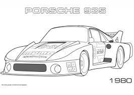 1980 Porsche 935 Kleurplaat Gratis Kleurplaten Printen