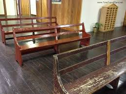 old wooden church pews designs