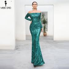 <b>Missord 2020 Sexy</b> bra Long sleeve retro party dress sequin maxi ...