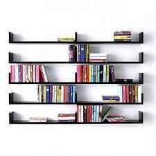 wall mounted book shelves cresif