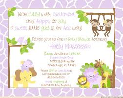 Jungle Baby Shower  Tolen Family FunBaby Shower Jungle