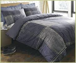 denim duvet cover twin covers king intended for ideas 7