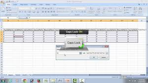 attendance spreadsheet excel attendance sheet how to create in excel youtube