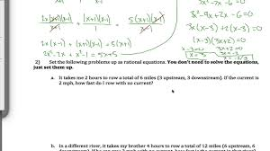 rational equation word problem