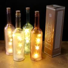 decorative led light bottle