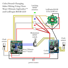clone wars ultimate lightsaber how to wire guide page  and one momentary dpdt switch for turning the saber on and off it seems to me that if the wiring diagram eastern posted works this one should work