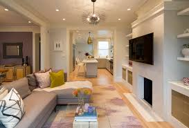 Living Room Kitchen Grand Traditional Kitchen Remodel In San Francisco Jeff King And