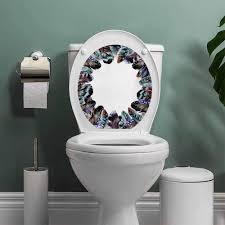 Modern Toilet Design Amazon Com Auraisehome Boho Modern Toilet Sticker Design