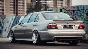 BMW E39 5 series silver deep dish | BMW - Ultimate Driving Machine ...