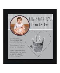 love this big brother and me handprint frame