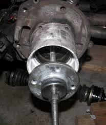 homemade wheel bearing puller. homemade wheel bearing puller h