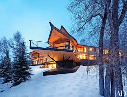 mountainside home plans lovely 4 design lessons from architect peter marino s rocky mountain chalet