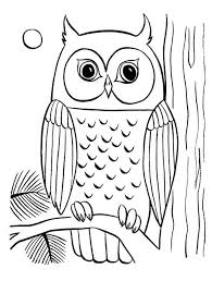 Small Picture elf owl cute owl sitting on a mushroom coloring page for kids
