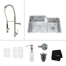 Canada Double Bowl Kitchen Sink Srt3120a Canadaconstructiondepotcom