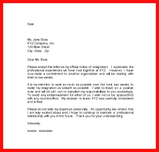 Sample Notice Letters 15 Two Weeks Notice Letters Samples Lettering Site