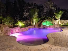 Pool Lighting Ideas Landscape Lighting Ideas Around Pool 2017 Including Images