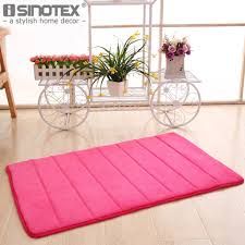 memory foam floor bath mat c velvet anti slip bathroom rug magnificent 40x60 50x80 stripe fleece high absorbency carpet