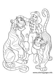 Small Picture jasmine tamed tigers disney s53ce Coloring pages Printable