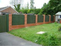 Small Picture wood and stone fence designs Brickwood fence 4 FencesGates