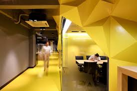 Yellow Office Office Colour Psychology What Colour Scheme Does Your