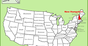 Image result for new hampshire map