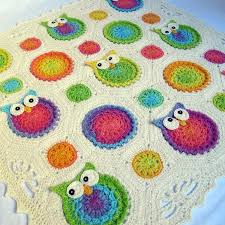 Crochet Owl Blanket Pattern Free Amazing Owl Obsession By Marken Crocheting Pattern Could Make Into A
