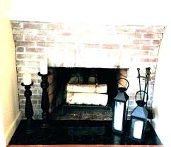 tile over brick fireplace before and after fireplace reface brick tile over white wash with concrete tile brick fireplace surround